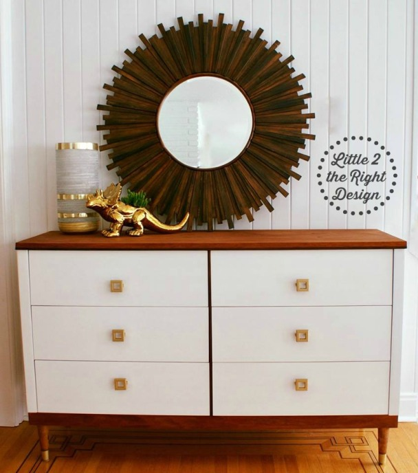 mcm 6 drawer dresser