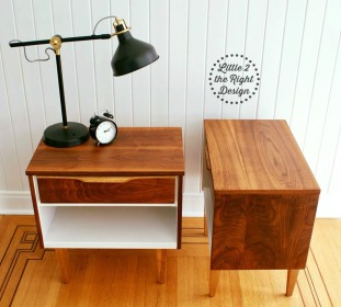 mcm side tables side