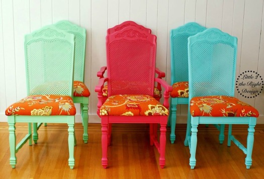 Cane chairs set