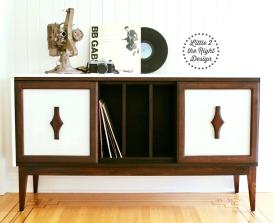 Martin Record Cabinet