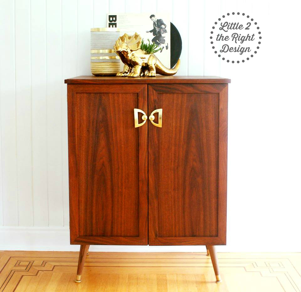 Roy the Mid Century Modern Record Cabinet-Sold | Little 2 the ...