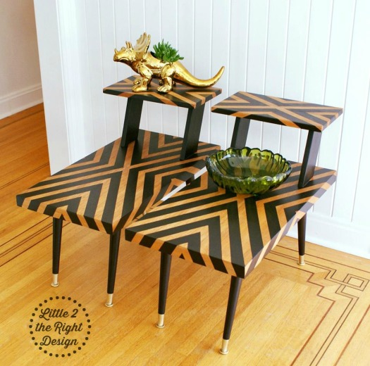 Braxton 2 tier side tables