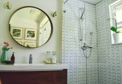 Modern Hexagon Bathroom Details