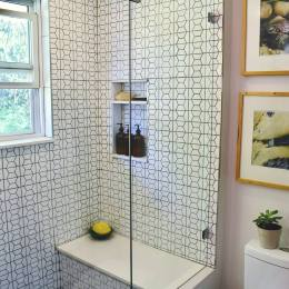Modern Hexagon Bathroom 4