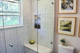 Modern Hexagon Bathroom 4