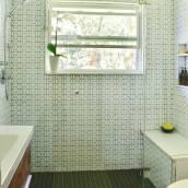 Modern Hexagon Bathroom Overview