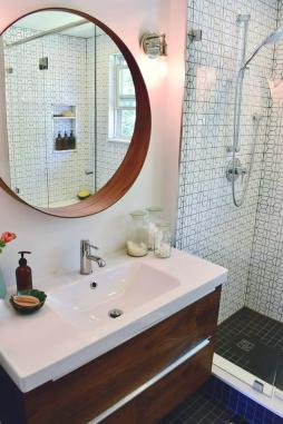 Modern Hexagon Bathroom 3