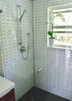 Modern Hexagon Bathroom 2