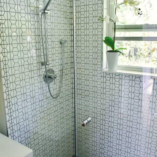 Modern Hexagon Bathroom 2