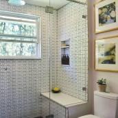 Modern Hexagon Bathroom